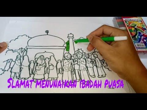 Yuk Mewarnai Suasana Ramadhan Youtube