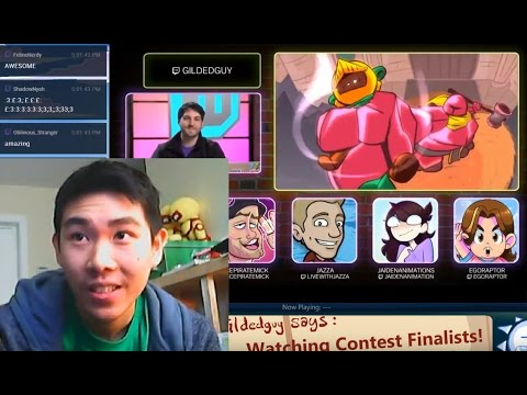 Twitch Anim Contest FINALIST REACTION!