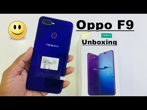 Oppo F9 Unboxing In Hindi Full Hand On Review 😀😀