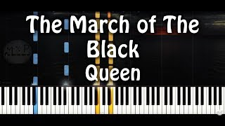 Queen - The March of The Black Piano Cover