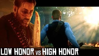 Low Honor Vs High Honor - Return For The Money (Brutal End) - Red Dead Redemption 2