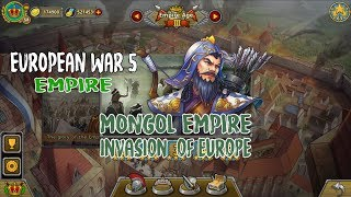 European War 5 : Empire - The Golden Horde - Invasion of Europe