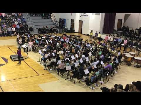 Desoto Central Middle School 6th Grade Band 2019 - Supercalifragilisticexpialidocious