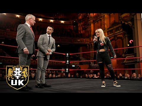 Johnny Saint announced NXT UK TakeOver: Blackpool: NXT UK, Dec. 26, 2018
