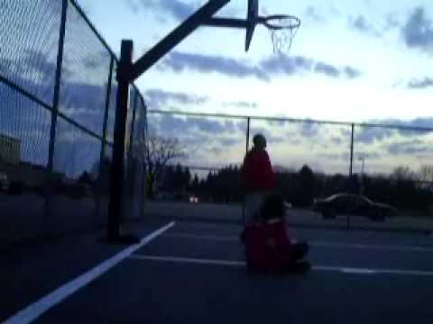 HiQual: Playing Basketball At The Reynolds Junior Senior High School!-(4/9/2009!) (Part 40 of 51!)