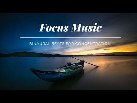 Focus Music, Background Concentration Music For Studying, Study Music