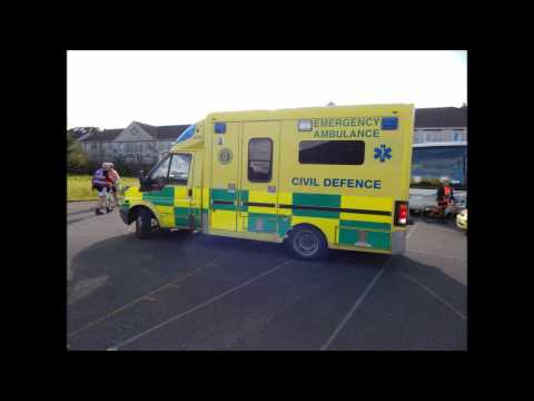 Kerry Civil Defence Cycle Against Sucide Crews Mobile To Incident