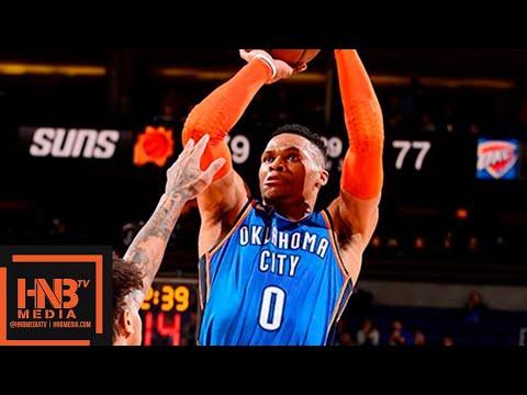 OKC Thunder vs Phoenix Suns Full Game Highlights | 12/28/2018 NBA Season