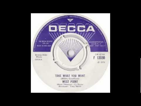 West Point - Take What You Want (RARE DECCA CUT)
