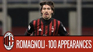 Romagnoli 100 appearances for AC Milan: his best plays