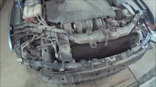 Ford Focus 2 мелкий ремонт крыльев и борьба с ржавчиной 1 часть