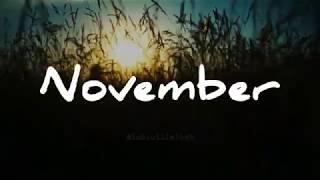 November || Status Wa Baper