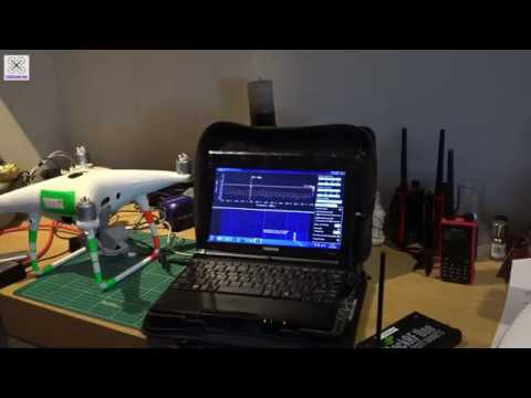 Software Defined Spectrum Analyser - Hack RF