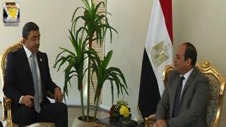 الرئيس السيسي يستقبل وزير الخارجية والتعاون الدولي الإماراتي