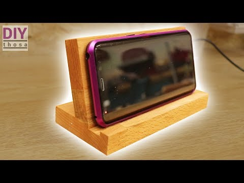 How to Make a Wireless Charger Stand - QI Fast Charger - Schnell Lader