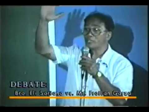Bro. Eli Soriano debate with Garza- 1. Which is the true church ?