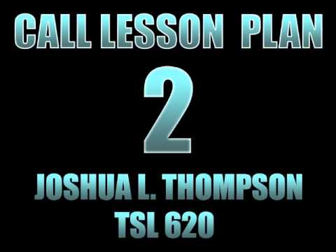 CALL Lesson Plan 2