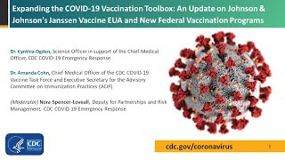 Dr. cynthia ogden shared updates on cdc's covid-19 response, including the latest scientific information and what everyone should know about protecting thems...