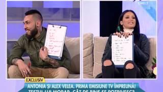 "Alex Velea & Antonia - "" Test fulger "" @ Rai Da"