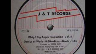 original big apple production volume 2 medley