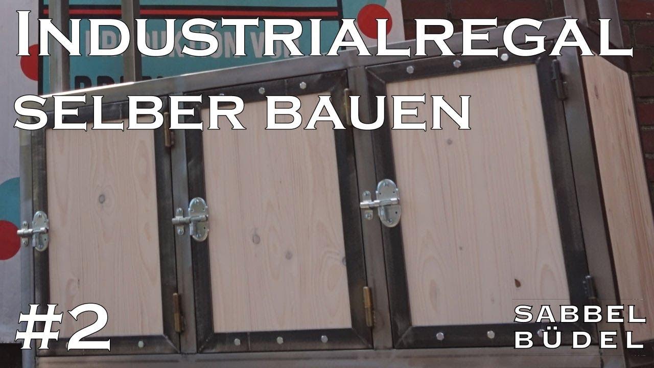 2 Industrial Regal Stahl Holz Eigenbau Diy Selbst Gebaut