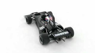 UOP Shadow Cosworth DN3 Peter Revson Brazil GP 1:43 Scale Model