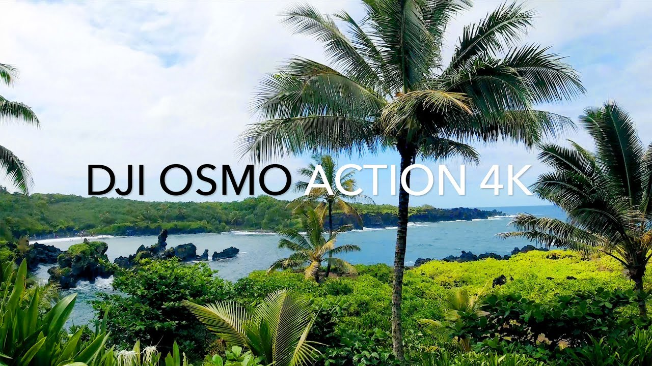 DJI Osmo Action 4K (Maui) HAWAII TEST FOOTAGE Part 3