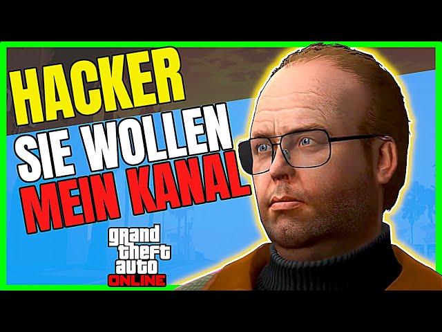 GTA Real Life? Hacker wollen mein YouTube Kanal! (GTA 5 Online Deutsch)