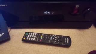 Multi Channel AV Receiver SONY STR-DN610 7.1ch 700W Bi-AMP 3D over 3x HDMI™