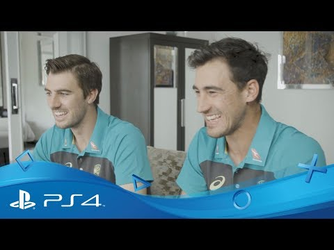 Ashes Cricket | Mitchell Starc vs Pat Cummins PS4 playoff