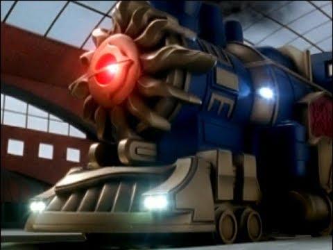 Power Rangers Mystic Force - Inner Strength - Solar Streak Train (Episode 15)