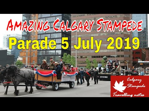Amazing Calgary Stampede 5 July 2019 #5StampedeFestival #Canada