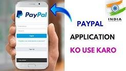 Paypal Application ko Use Karo
