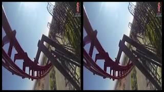 VRin - Virtual Reality Roller Coaster #6 - 3D - SBS - google cardboard