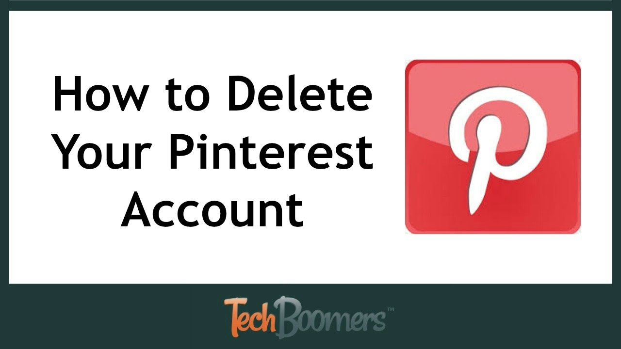 How to Delete Your Pinterest Account - YouTube 35dda8a3129
