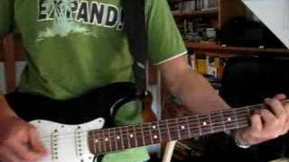 Maximo Park - Books From Boxes (guitar-cover)