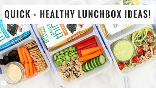Quick & Healthy Lunchbox Ideas   Back To School Recipes   Healthy Grocery Girl