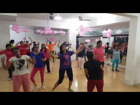 Women's day event fitness square Bangalore