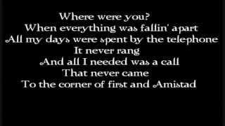 The Fray - You Found Me (lyrics)