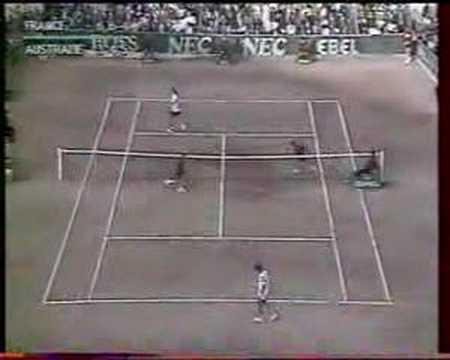 Santoro Masur Davis Cup 1991