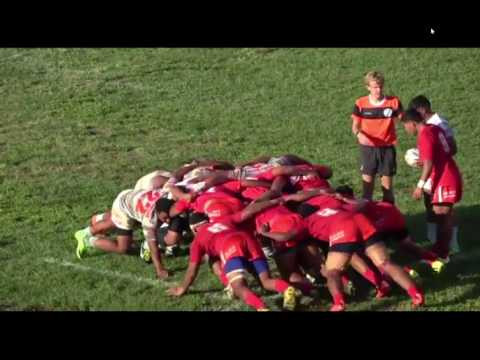 First XV Semi Finals Tongatapu Schools Rugby LIONS Dominant Scrum Against AFC 2017
