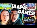 IAAPA 2017 Arcade Games At Main Event Arcade! Tight Rope, Qubes, Pirate Falls, Maze Escape Jackpot!?