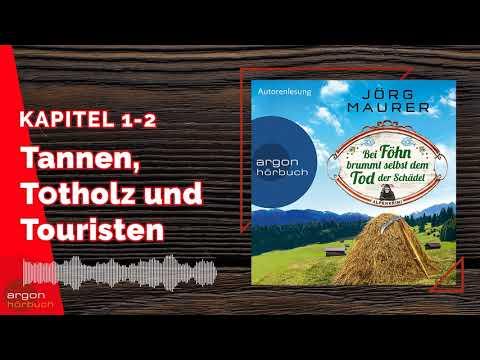 Bei Föhn brummt selbst dem Tod der Schädel YouTube Hörbuch Trailer auf Deutsch