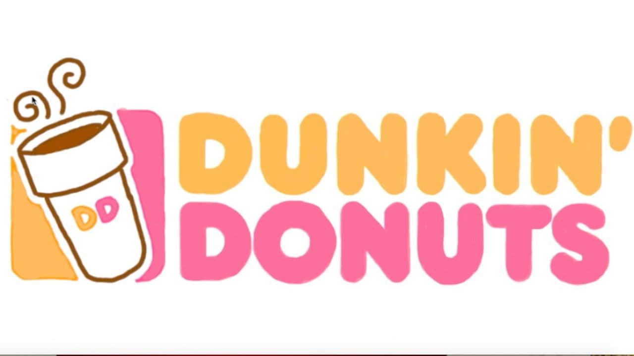 Dunkin Donuts logo - YouTube