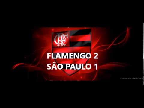 Flamengo 2 x 1 São Paulo - Brasileirão 2015 - Narração ...