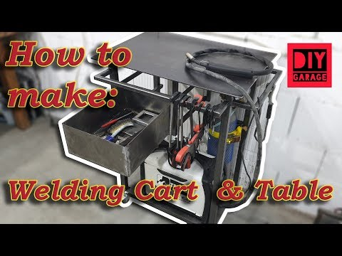How to make a Welding Cart & Table