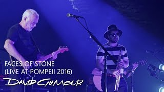 David Gilmour Faces Of Stone Live At Pompeii