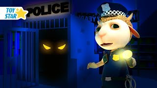 New 3D Cartoon For Kids  Dolly And Friends  Night In The Supermarket With Police And Kids Toy 121
