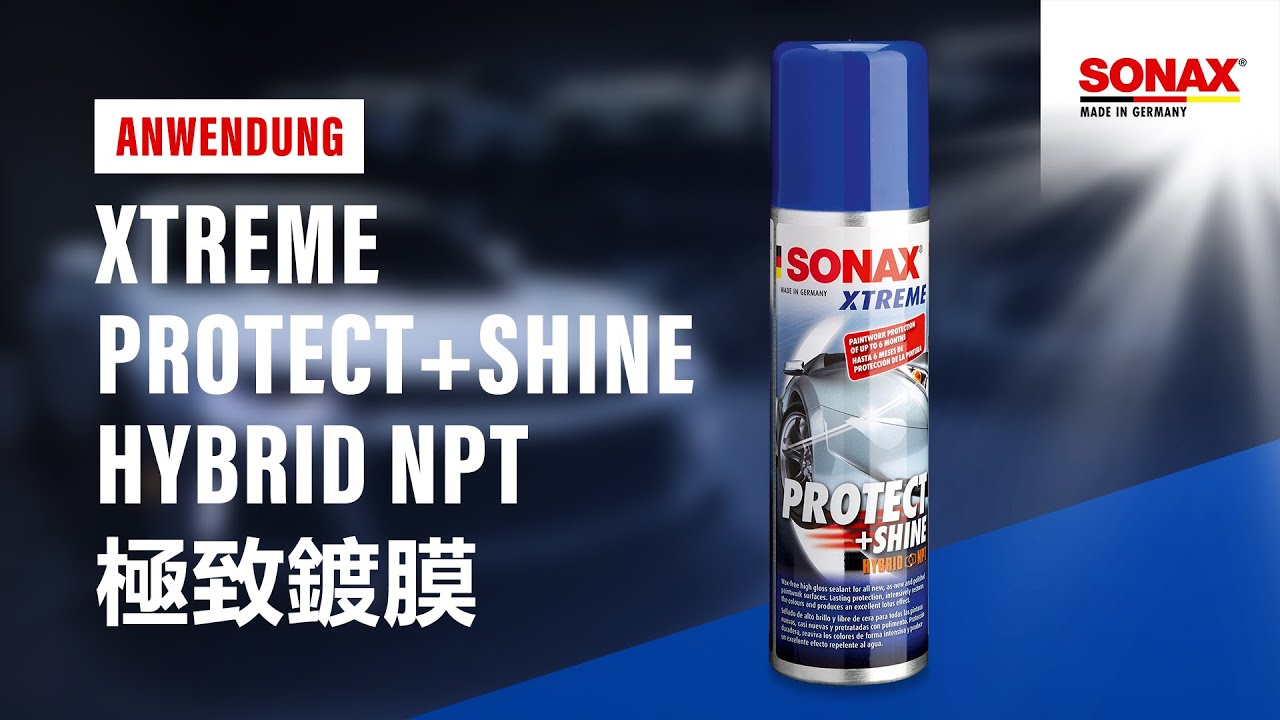 sonax xtreme protect shine hybrid npt youtube. Black Bedroom Furniture Sets. Home Design Ideas