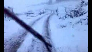 driving in snow hgv